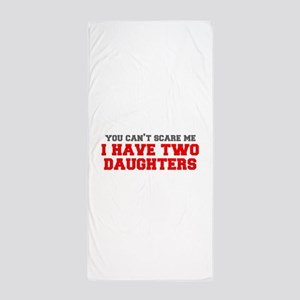 two-daughters-fresh-gray-red-3000 Beach Towel