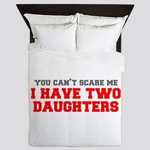 two-daughters-fresh-gray-red-3000 Queen Duvet