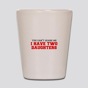 two-daughters-fresh-gray-red-3000 Shot Glass