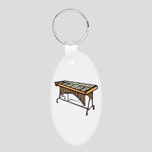 vibraphone simple instrument design Keychains