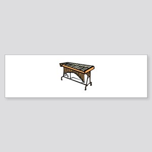 vibraphone simple instrument design Bumper Sticker