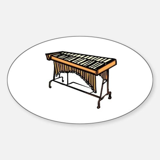 vibraphone simple instrument design Decal