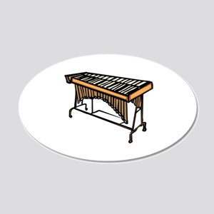 vibraphone simple instrument design Wall Decal