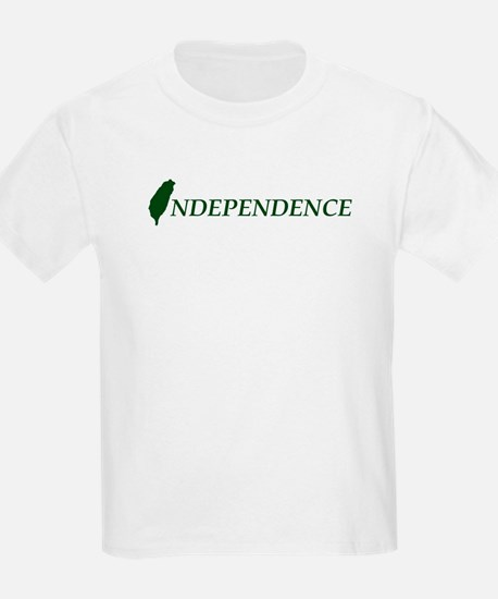Taiwan Independence Kids T-Shirt