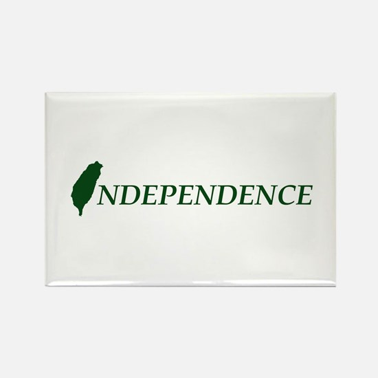 Taiwan Independence Rectangle Magnet