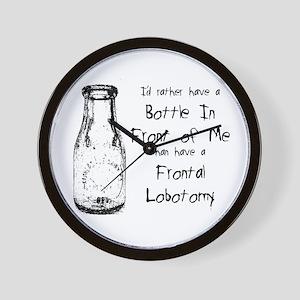 Frontal Lobotomy Wall Clock