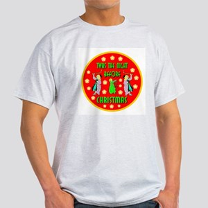 Twas The Night Before Christm Ash Grey T-Shirt