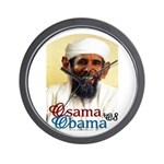 Osama Obama '08 Wall Clock