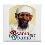 Osama Obama '08 Tile Coaster