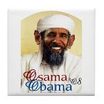 Osama Obama '08 Tile Coaster