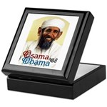 Osama Obama '08 Keepsake Box