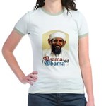 Osama Obama '08 Jr. Ringer T-Shirt