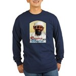 Osama Obama '08 Long Sleeve Dark T-Shirt
