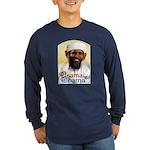 Osama Obama '08 Long Sleeve Dark T-Shirt