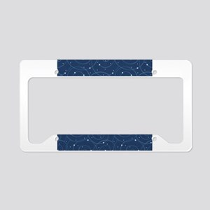 Orbiting Stars License Plate Holder