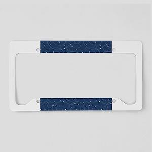 Orbiting Stars License Plate Holder
