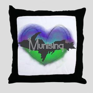 Aurora Munising Throw Pillow
