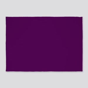 solid color royal purple 530654 rug large 5'x7'Are