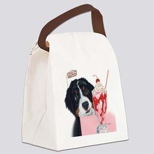 Bernerlicious Canvas Lunch Bag