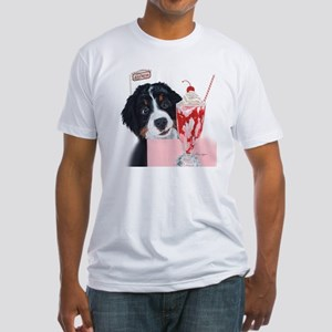 Bernerlicious Fitted T-Shirt