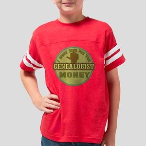 GENEALOGIST Youth Football Shirt