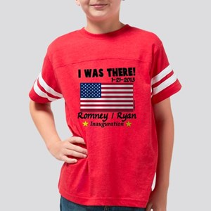 I Was There Romney Ryan 2013  Youth Football Shirt