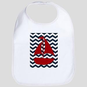 Sail boat Bib