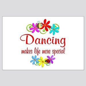 Dancing is Special Large Poster