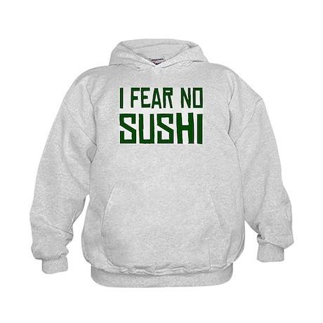 I Fear No Sushi Kids Hoodie