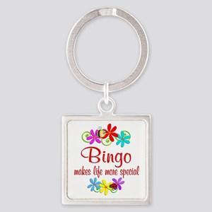 Bingo is Special Square Keychain