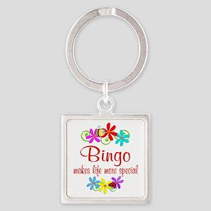 Bingo is Special Square Keychain