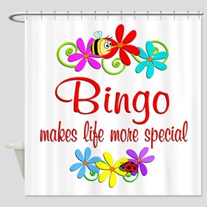 Bingo is Special Shower Curtain