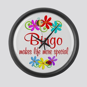 Bingo is Special Large Wall Clock