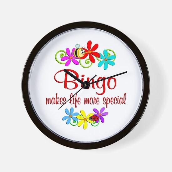 Bingo is Special Wall Clock