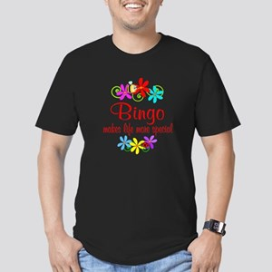 Bingo is Special Men's Fitted T-Shirt (dark)