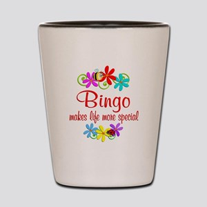 Bingo is Special Shot Glass