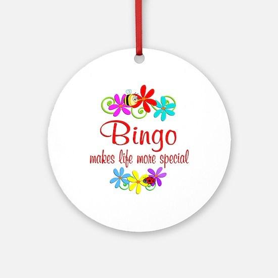 Bingo is Special Ornament (Round)
