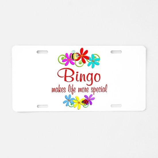 Bingo is Special Aluminum License Plate