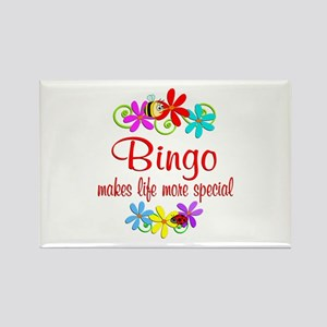 Bingo is Special Rectangle Magnet