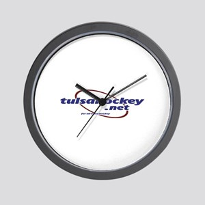 TulsaHockey.net Wall Clock