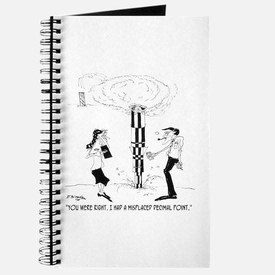 Misplaced Decimal Point Journal