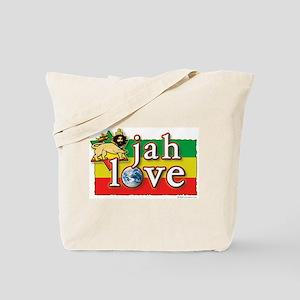 Jah Love Tote Bag