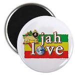 "Jah Love 2.25"" Magnet (10 pack)"