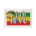 Jah Love Rectangle Magnet