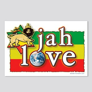 Jah Love Postcards (Package of 8)