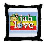 Jah Love Throw Pillow