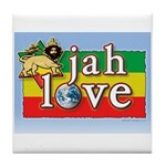 Jah Love Tile Coaster