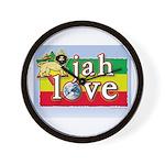 Jah Love Wall Clock
