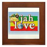 Jah Love Framed Tile