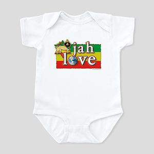 Jah Love Infant Bodysuit
